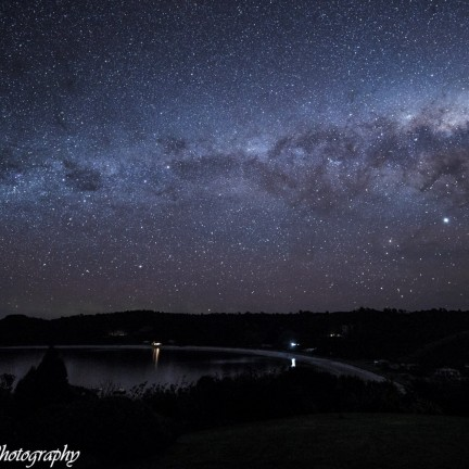 Starry sky over Oban. Photo - Sandra Whipp, Stewart Island Photography